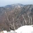 八経ガ岳と樹氷