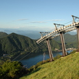山頂駅からの風景