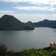 硯岩から榛名湖