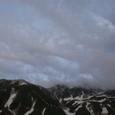 夕暮れの立山