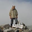 奥大日岳山頂記念撮影