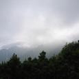 稜線より剣岳