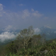 高妻山、戸隠山景色