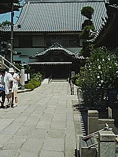 やっと出発点の立江寺