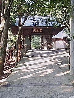 やっと着きました鶴林寺