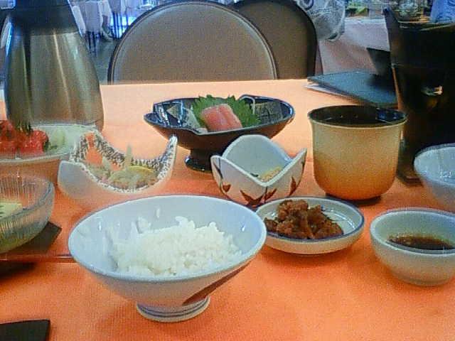 那智勝浦の休暇村の食事