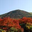 紅葉の稜線